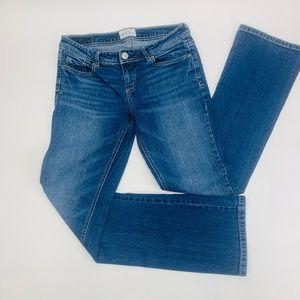 Aeropostale Womens Jeans 7 Blue Chelsea Boot Cut